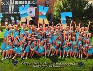 Kappa Kappa Gamma Bid Day 2015