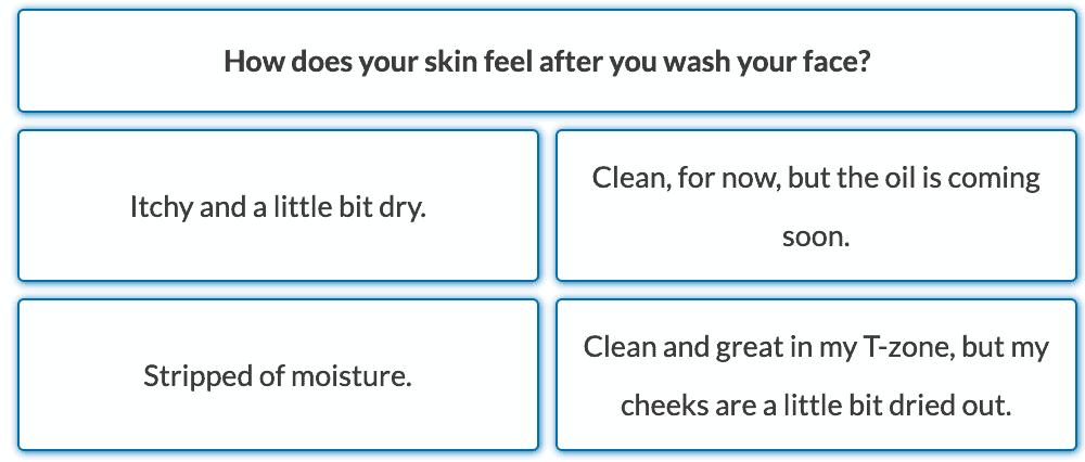 skincare quiz